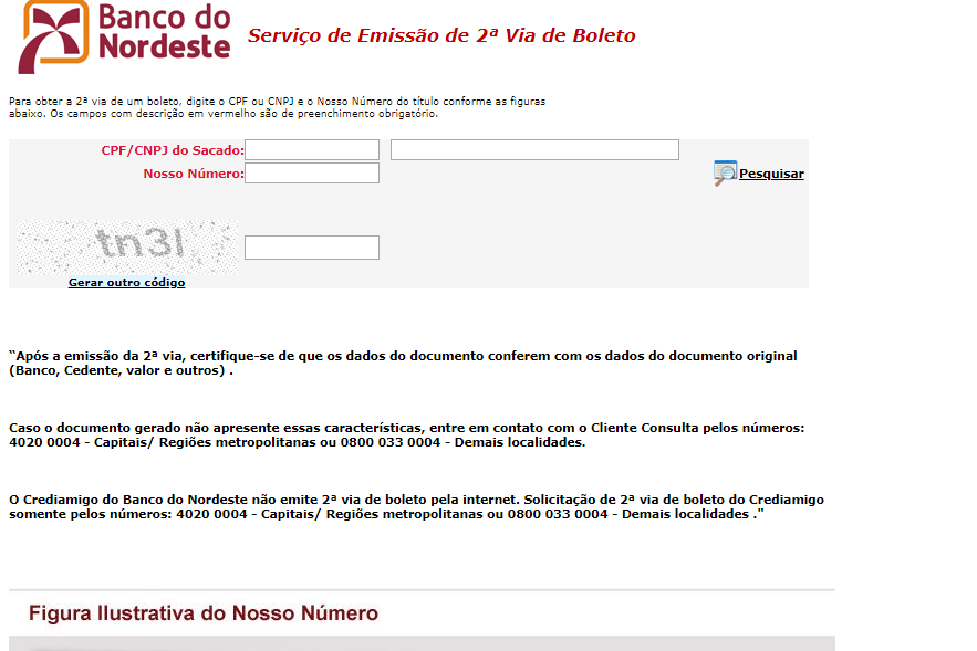 site do banco do nordeste
