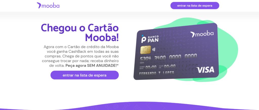 cartão de crédito Mooba Visa